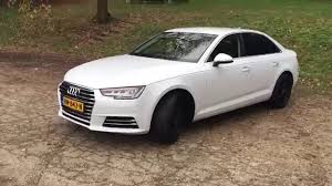 Audi A4 2016 glacier-white 2.0 TFSI S-tronic full options, black ...