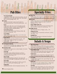 Restaurant Menu Template Word Gallery For Photographers With