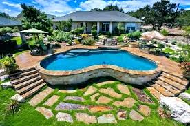 backyard with pool design ideas. Simple With Backyard Patio Ideas With Pool Cool Awesome  Design  In Backyard With Pool Design Ideas