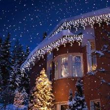outdoor xmas lighting. Christmas Led White Snowing Icicle Bright Party Wedding Xmas Outdoor Lights Lighting T