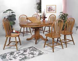 oak dining room set adorable solid table and chairs