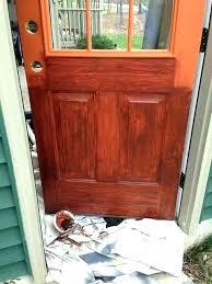 painting a metal door can you paint a metal door painting a steel door always wanted painting a metal door