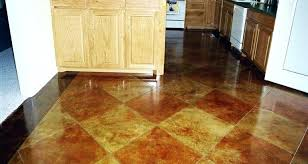 diy concrete floor stain stained concrete floors in homes diy acid stain concrete basement floor