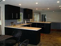 black oak kitchen cabinets black stained kitchen cabinets remarkable on the safe staining dark wood kitchen
