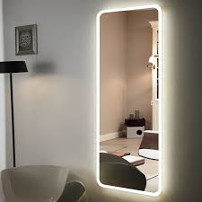 Full Size Mirror With Lights Hot Item 5mm Frameless Wall Mounted Full Length Large Size Dining Room Led Mirror