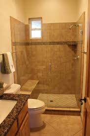... Small Bathroom Decoration Contemporary Bathroom Decoration Using  Various Walk In Shower With Seat : Fantastic Bathroom Decoration Using  Mounted ...