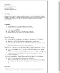 Resume Templates: Utility Worker