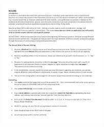 Easy To Read Resume Format Resume Sample Web