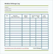 Drivers Log Book Sample Driver Trip Sheet Log Template Vehicle Mileage Book