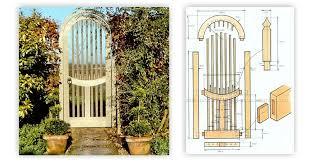garden gate plans. Garden Gate Plans A