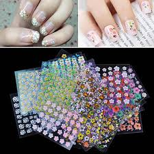 Nail Show Design 50 Sheets Nail Art Design Water Transfer Nails Sticker
