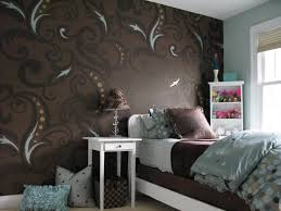 Elegant Bedroom Interior Homes With Wall Paint Designs For Small In Best Ideas Of Bedroom  Paint And Wallpaper Ideas