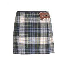 Designer Plaid Skirt Mytheresa Com Wool Plaid Mini Skirt Short Skirts