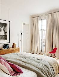 Paris Curtains For Bedroom Apartment In Paris By Sandra Benhamou Homeadore