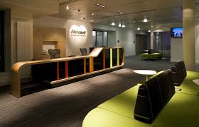 microsoft office headquarters. Perfect Office Microsoft Scotland Edinburgh Interior  Reception To Office Headquarters F