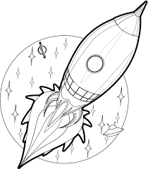 Small Picture Free Printable Rocket Ship Coloring Pages For Kids vbs space