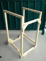 picture of dip station diy exercise stand