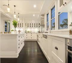 White Kitchen Dark Floors White Kitchen Dark Floors E Nongzico