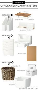 Traditional paper tray storage systems are still the best way to organize a cluttered desk  Minimal office organization systems that will transform your     Pinterest