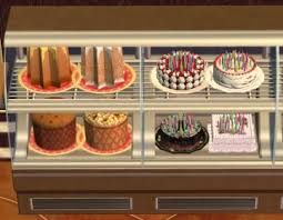 Mod The Sims Celebration Custom Cakes Can Be Placed In Ofb Decra