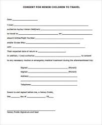 Printable Medical Release Form For Children Unique 44 Sample Child Medical Consent Forms Sample Templates