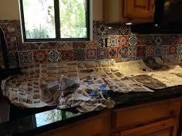 mexican tile kitchen backsplash view in gallery talavera tile regarding captivating mexican tile backsplash ideas for