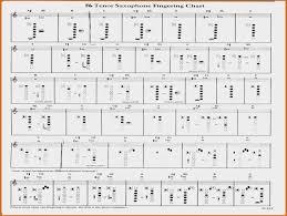 Baritone Saxophone Finger Chart Fresh Viking M58 And M60