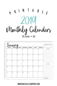 printable 6 month calendar 2019 2019 printable monthly calendars landscape us letter a4 6 month