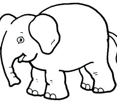 Baby Elephant Drawings Printable Pictures Of Elephants
