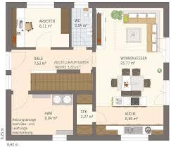 Ein illustrierter ratgeber, wie die wohnfläche zu ermitteln ist. Einfamilienhaus Neo 111 Kompaktes Fertighaus Mit 125 M Fingerhaus
