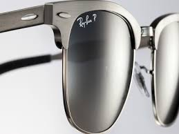 a scratched or cloudy ray ban lens needs to be replaced as soon as possible