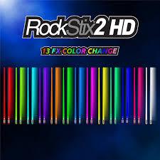 Light Up Drum Us 39 99 Rockstix 2 Hd 13 Color Change Bridge Led Light Up Drumsticks 13 Amazing Color Change With Fade Effect Set Your Gig On Fire In Parts