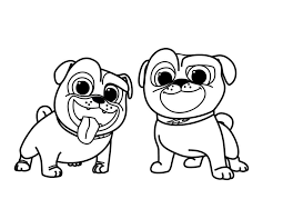 After the film, choose a coloring sheet, relax, unwind and color together! Puppy Dog Pals Coloring Pages For Kids Novocom Top