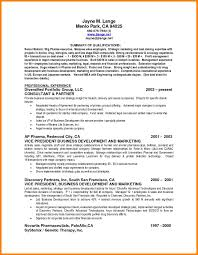 9 Summary Of Qualification Resume Ledger Page