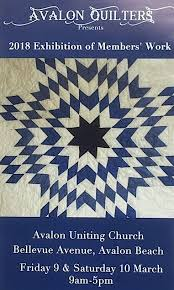 Fairholme Quilters: 2018 events & Raffle Quilt: 1930s vintage quilt 'Touching Stars', hand quilted by members. Adamdwight.com