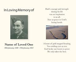 Funeral Remembrance Cards Funeral Service Books Memorial Cards Perth Direction