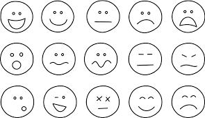 Image result for happy face and sad face
