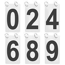 Number Flip Chart