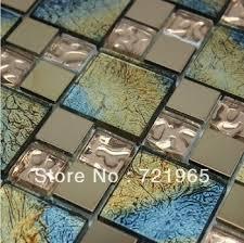 stainless steel moaic glass mosaic tile ssmt194 glass mosaic stainless steel tiles backsplash kitchen glass tiles