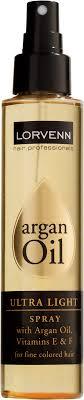 <b>Ультра легкое масло</b>-<b>спрей</b> Lorvenn Argan Oil Ultra Light, для ...