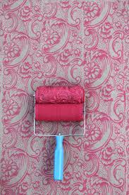 Patterned Paint Roller Designs Simple Inspiration