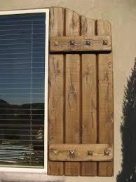 Rustic Exterior Window Shutters | Rustic Shutters