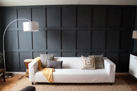 Wainscoting For Living Room Our Dark Diyed Wainscoting Reveal Chris Loves Julia