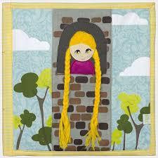 quiet book rapunzel braiding