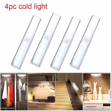 closet lighting wireless. BEAUTIY CITY U`King 4PCS Under Cabinet Lights 10 LED Wireless Human Induction Lamp Night Closet Lighting