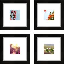 modern white picture frames. Craig Frames 8x8 Black Picture Frame, Smartphone Collection, Single White Mat With 4x4 Square Opening, Set Of 4 - Walmart.com Modern E