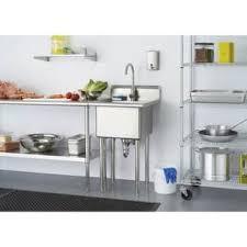 metal utility sink. Simple Metal Trinity Stainless Steel Singlebasin Utility Sink Throughout Metal S