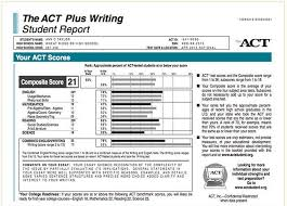 act student report