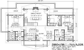 Elk Lodge Bunk House Log Cabin PlanLarge Log Cabin Floor Plans