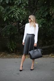 j crew leather pleated midi skirt